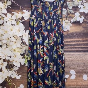 JUICY COUTURE Strapless Maxi Dress